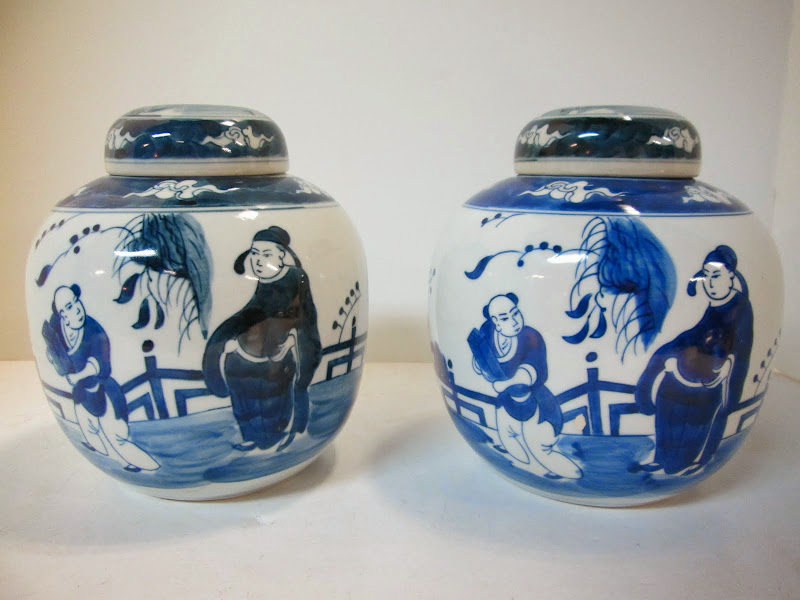 Ginger Jar Pair