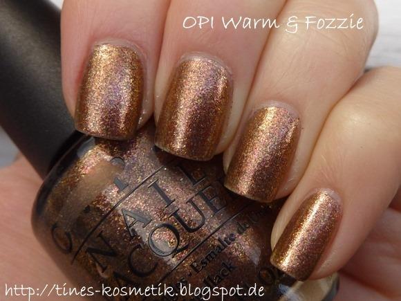 OPI Warm & Fozzie 1