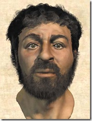Gesù viso ricostruito con simulazioni scientifiche al computer