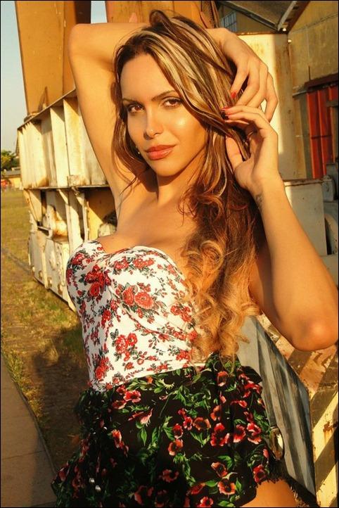 Viviany Beleboni, de São Paulo  (Foto: Divulgação)