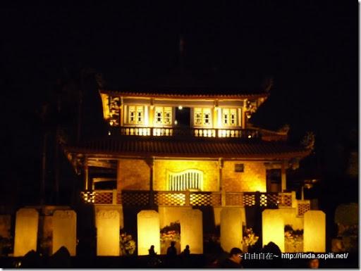 台南赤嵌樓-晚上