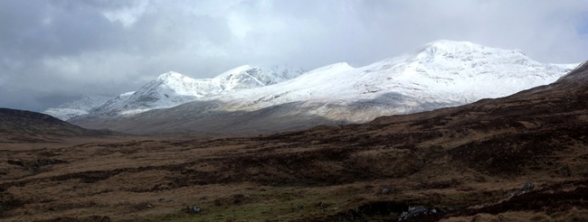 PHIL'S PICTURE OF BEN NEVIS FROM MEANACH BOTHY