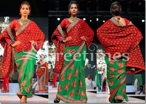 Red_Green_Half_and_Half_Saree