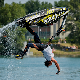 Aquabike by Luca Renoldi - Sports & Fitness Watersports ( water, aquabike, jetski, lake, freestyle, jump )