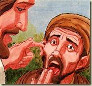 Jesus heals deaf man - 02