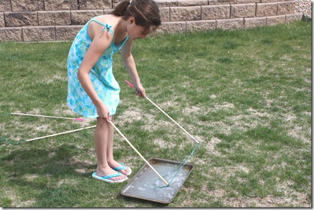 Diy giant bubble wand confessions of a homeschooler for Giant bubble wand