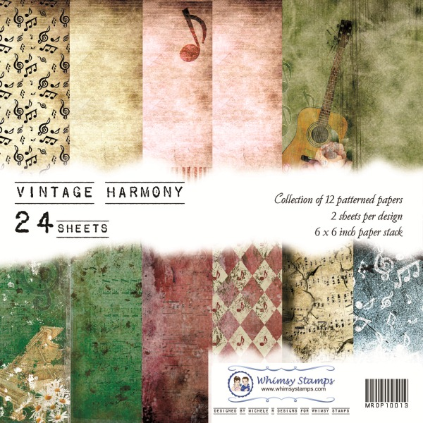 Vintage Harmony Front Sheet