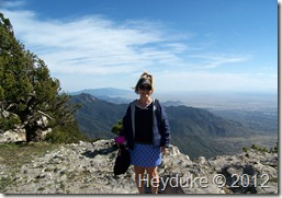 Sandia Peak after tram ride