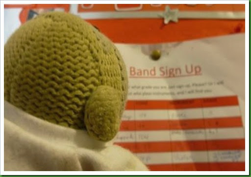 Band sign up