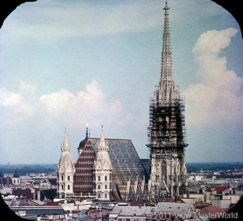 View-Master Austria (B198), Scene 2: St. Stephen's Cathedral