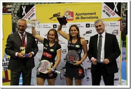 Carolina Navarro y Cecilia Reiter también levantaron su primer Mundial como pareja