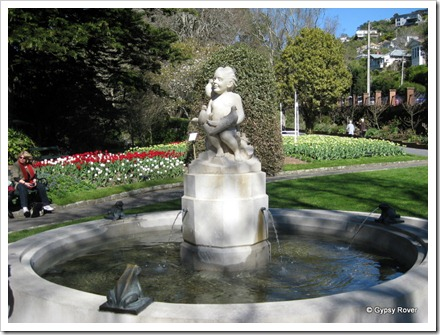 This fountain was installed in the Wellington Botanical garden in 1946 and refurbished in 2009.