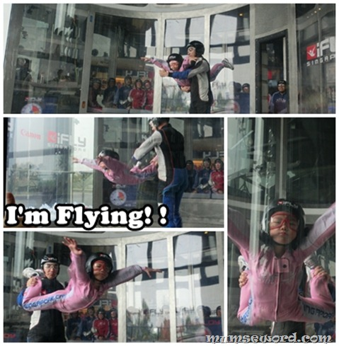iFly children flying