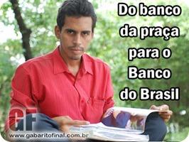 19/06/2008. Credito: Ines Campelo/DP/D.A Press. Na foto Ubirajara Gomes, ele e morador de rua e passou no concurso do Banco do Brasil.