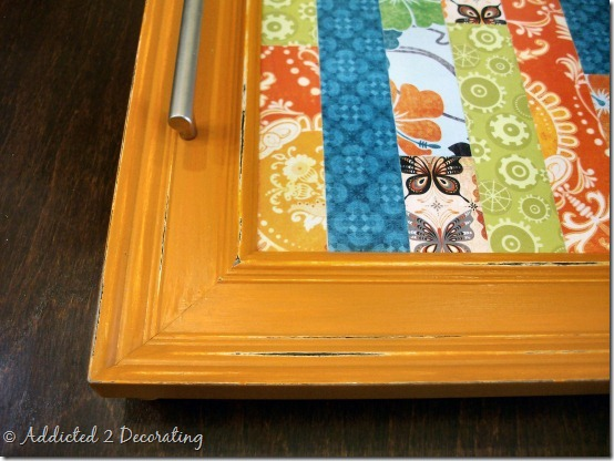serving tray made from frame 3