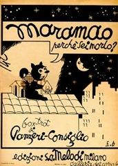 Maramao perché sei morto, canzone di Panzeri-Consiglio 1939