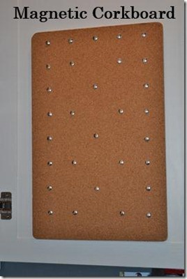 Magnetic Corkboard