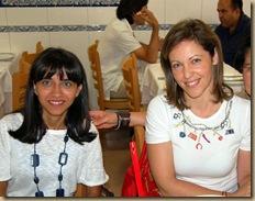 Técnicas Superioras Drª Sandra Rosa e Natacha Ribeiro