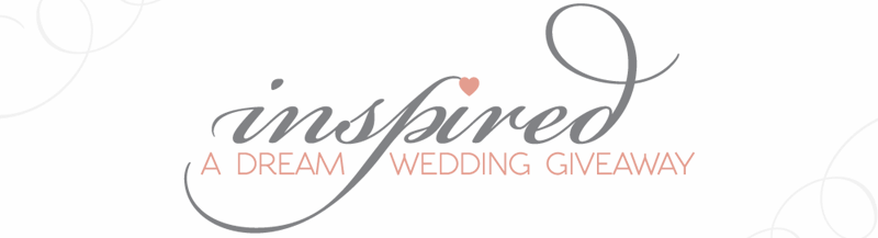 inspired wedding giveaway