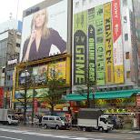 cameron diaz softbank in akihabara in Akihabara, Tokyo, Japan