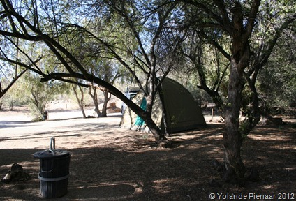 Campsites, Augrabies Falls Park