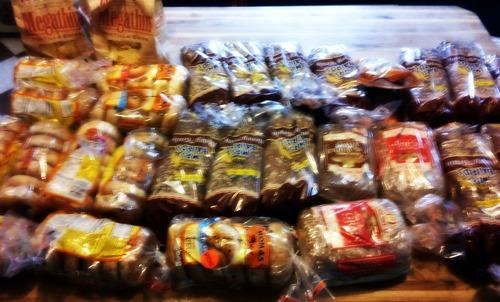 bread everywhere