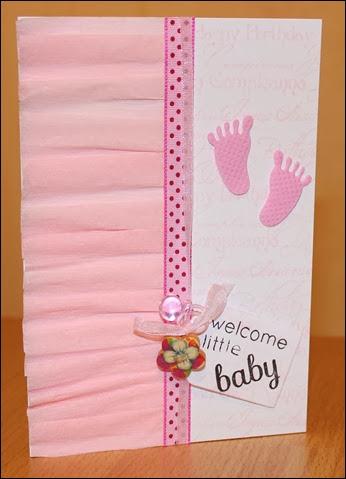 Baby Girl Karte
