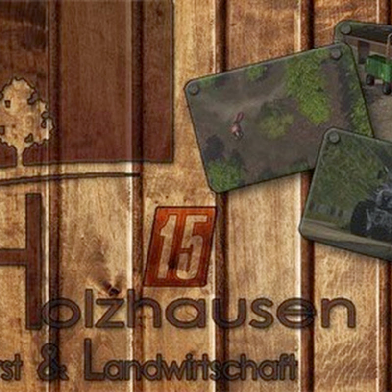 Farming simulator 2015 - Holzhausen v 1.1.0 Mappa