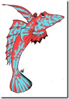 peces clipart blogolorear (6)