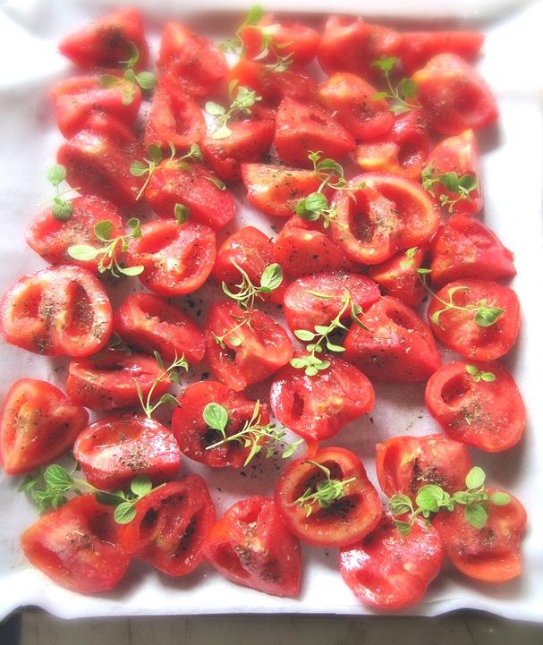 rosii de copt cu oregano