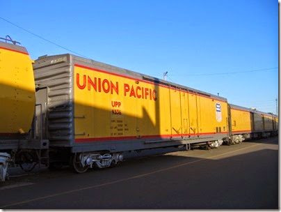 IMG_6495 Union Pacific Express Box Car #9336 at Albina Yard in Portland on May 22, 2007