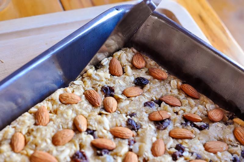 gluten free maple granola bars-1102