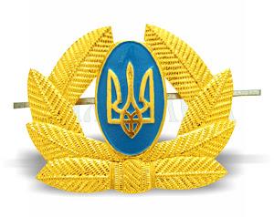 Кокарда солдатська алюмінієва