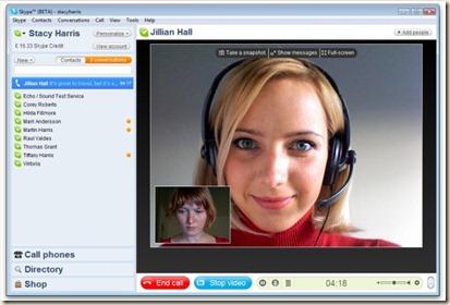 skype live conversation