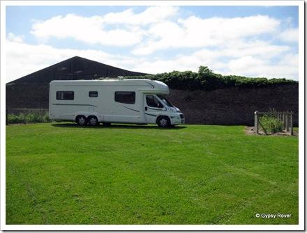 Gypsy Rover at Crofton Hall near Carlisle..