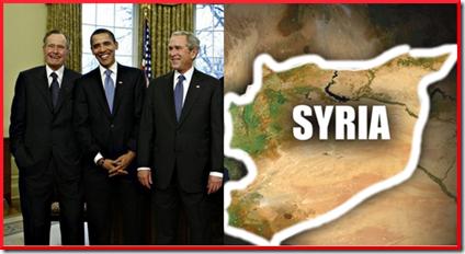 Obama - Bush - Siria