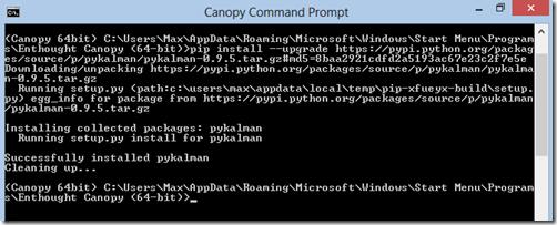 image  sc 1 st  Madhuka & Installing external package for canopy / (python) | Madhuka