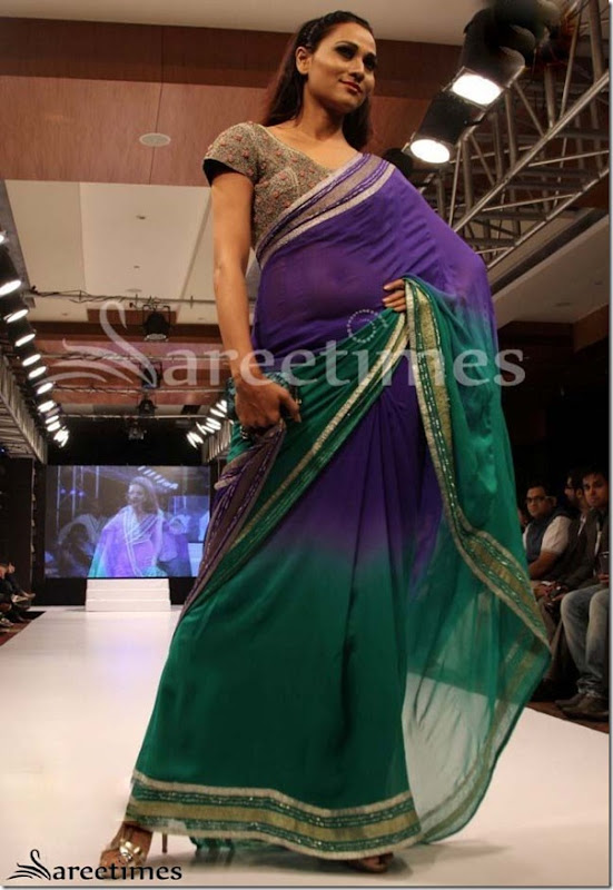 Blue_Green_Dual_Color_Saree