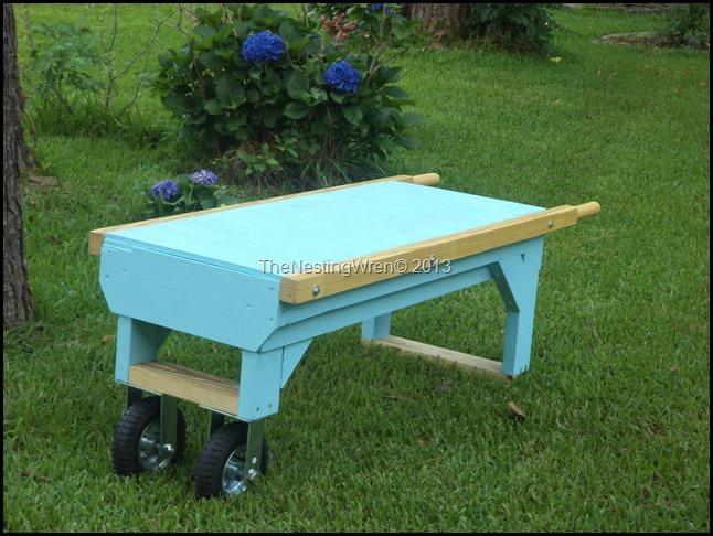 platform garden cart