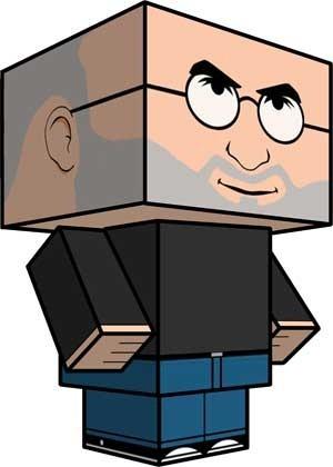 Buat patung mainan kertas dengan Cubeecraft