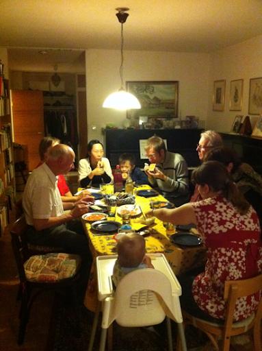 Middag i Farsta