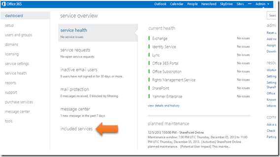 Ciaops enable yammer integration in office 365 - Activate yammer office 365 ...