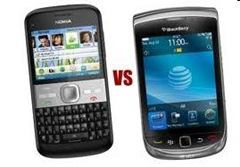 nokia vs blackbarry