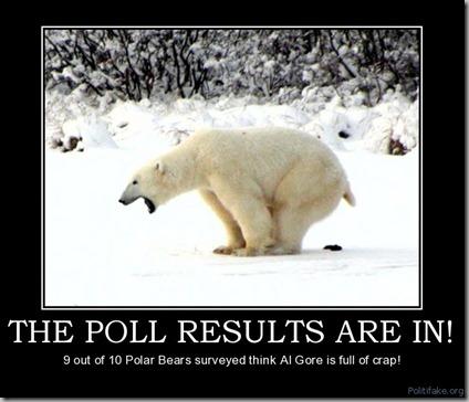 polar bear crap