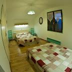 Chambre Verte 2ème étage chalet L'Orée du Bois - Location - Les Carroz