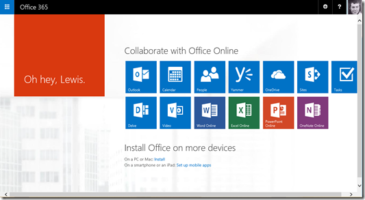 CIAOPS: Office 365 video embedding
