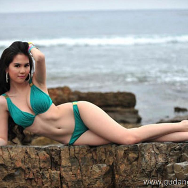vietnam hot model ngoc trinh with bikini