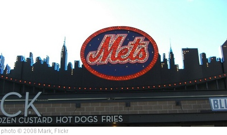 'New York Mets - NY Skyline at CitiField' photo (c) 2008, Mark - license: http://creativecommons.org/licenses/by-nd/2.0/