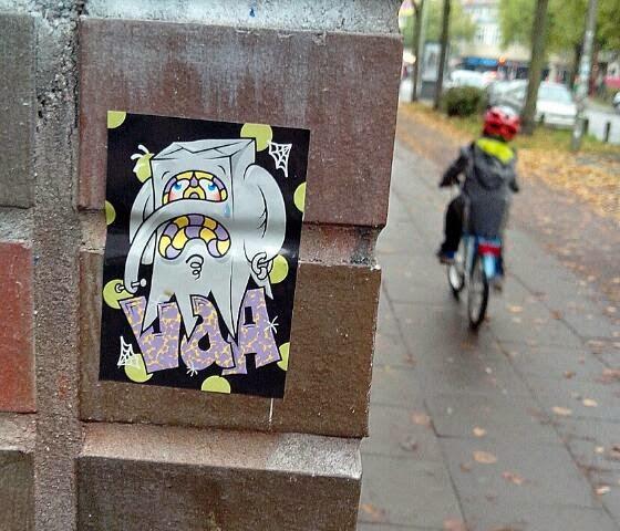 Sticker Streetart Hamburg