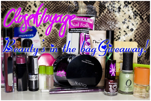 Beautys In Bag Giveaway.